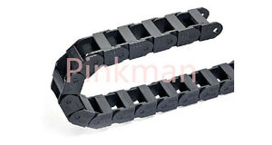 1000mm Cable Drag Chain Wire Carrier 35x75mm _reinforced Nylon Pa66