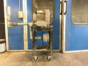 Hahn Rapid Air Paint Booth Drying Ring Compressor
