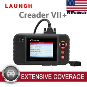 Launch X431 Creader Vii 7 Crp123 Obd2 Auto Diagnostic Tool Code Reader Scanner