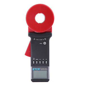 Etcr2100a Digital Clamp On Ground Earth Resistance Tester Meter 0 01 200