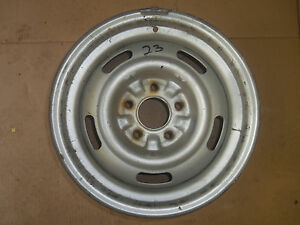 15x7 Corvette Style Rally Wheel Coded Fw K 37 7 11 23 Aaw23