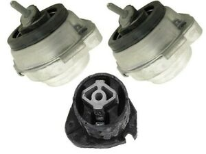 Bmw E53 V6 2004 2006 Engine Transmission Mount Kit 3 Pcs Support Damper Bush