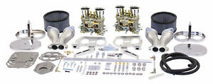 Empi 47 7319 Vw Bug Dual 44hpmx Carburetor Kit Sand Rail Dune Buggy Bus