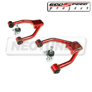For Lexus Is300 01 05 Altezza Xe10 Godspeed Front Adjustable Camber Arm Kit Set