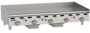 Vulcan Msa60 Msa series 60 Snap Action Thermostatic Gas Griddle