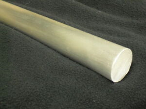 1 Aluminum Round Bar Rod 36 Long 6061 t6 Mill Finish