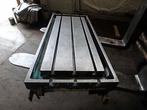 43 25 X 19 50 X 5 Steel Welding T slotted Table Cast Iron Layout Plate Jig