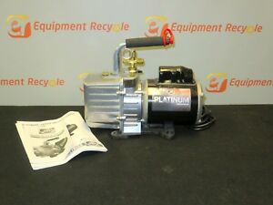 Jb Platinum Series Vacuum Pump 2 Stage Direct Drive Dv 200n 7 Cfm 1 2hp New