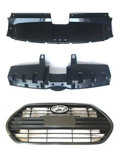 2013 2017 Veloster Turbo Front Bumper Grille Genuine Hyundai Set Of 5 Parts