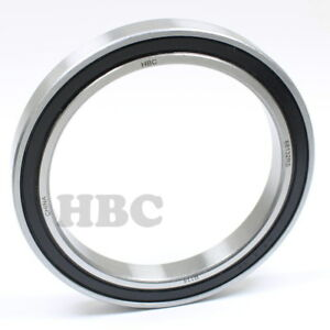 Stainless Steel Ball Bearing S6813 2rs With 2 Rubber Seals
