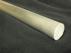 1 Aluminum Round Bar Rod 72 Long 6061 t6 Mill Finish