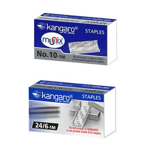 Kangaro Stapler Staple Pin No 10 1m Kangaro Stapler Staple Pin No 24 6 1m