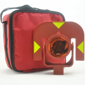 New Red Single Prism For Leica Type Total Stations Surveying Offset 0mm