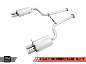 Awe Duel Exhaust System For B7 2006 2008 Audi A4