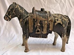 Magnificent 18 Century Wooden Horse Must See