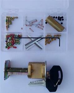 Kwikset 5 Pin you Build A Lock Practice Lock Kit With Spool Serrated Pins