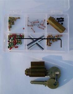 Yale 6 Pin you Build A Lock Practice Lock Kit With Spool Serrated Pins