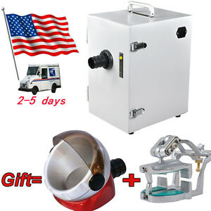 Usa Dental Single row Dust Collector Vacuum Cleaner Articulator suction Base