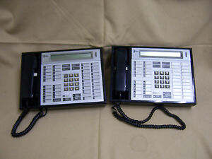 Lot Of 2 At t 7407 Avaya Lucent Business Desktop Phones