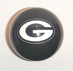 Green Bay Packers Custom Gear Shifter Shift Knob Green Universal Fit Nfl