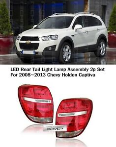 Led Tail Light Lamp Assembly 2pcs For Chevrolet 08 09 10 11 12 13 14 15 Captiva