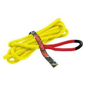 Bubba Rope Lil Bubba Marine 1 2 X 25 Yellow With Red Eyes