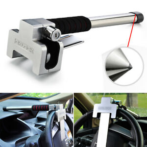 Anti Theft Security System Steering Wheel Lock Vehicle Car Auto Safe Hammer