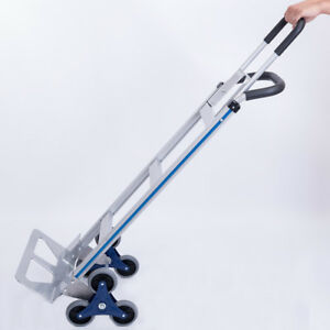Aluminum Stair Climber Hand Truck Dolly Heavy Duty 550 Lb Capacity Same Day Ship