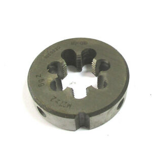 Threading Dies M27 X 2 0 2oz Hss By Wmw Die H16815