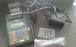 Hypercom T7plus Credit Card Terminal With Power Supply