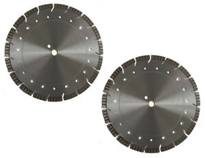 2 Pack 14 Supreme Combo Diamond Saw Blade For Hard Concrete masonry brick block