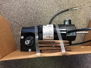 Bodine 90v 0 5a 45w Right Angle 20 1 Worm Drive Gearmotor