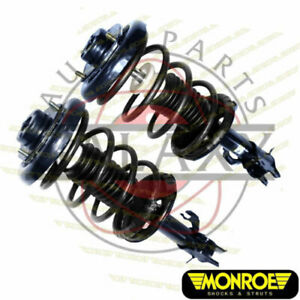 Monroe New Front Replacement Struts Pair For Nissan Maxima 1998 95