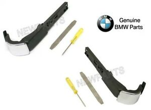 For Bmw E92 3 Series Coupe Pair Set Of 2 Front Seat Belt Extender Arms Genuine