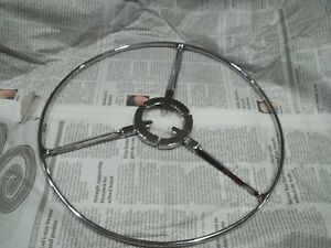 1937 38 Buick Chrome Horn Ring New