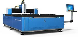 1500w Bescutter Fiber Laser Metal Cutter Demo In Fl Ca Ga Il Oh Tn Nm Ky Nc Sd
