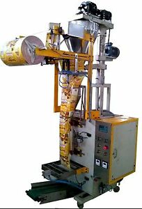 Automatic Pneumatic Ffs Machine With Servo Driven Auger Filler Auger Based M c