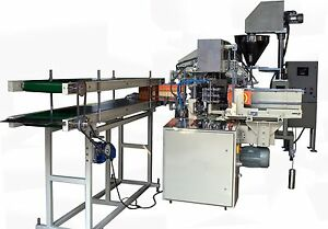 Lined Carton Packing Machine For Filling Spices Powders Spices Packing Machine
