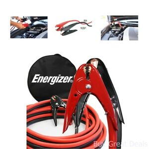 Energizer 2 gauge 800a Jumper Battery Cables 16 Ft Booster Jump Start Enb 216