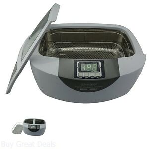 Commercial Ultrasonic Cleaner Cleaning Dental Instruments And Silverwear 2 5l