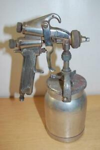 Vintage Sharpe Automotive Spray Gun With 1 Qt Binks Can As Pictured