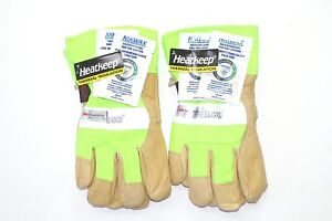 Kinco 1939 2 pack Work Gloves High Visibility With Nikwax Waterproofing