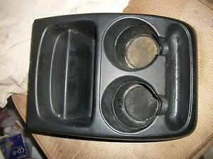 98 99 00 01 02 03 04 Oem Ford Ranger Cup Holder Center Floor Console Storage