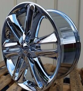 22x9 Chrome F 150 Style Wheels 22 Rims Fits Ford F150 Platinum Expedition Fx