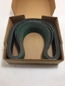 10pcs 2 x48 Arc Abrasives Zirconia Alumina Sanding Belts 50 Grit Y weight Usa