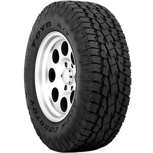 2 New P 255 70r17 Toyo Open Country A t Ii Tires 70 17 R17 2557017 70r Black At