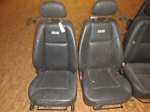 2006 2009 Chevy Cobalt Ss Black Leather Manual Front Seats Oem Sport