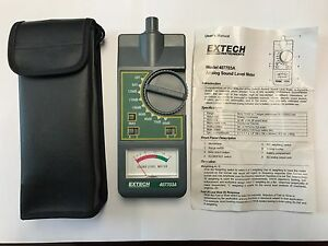 Extech 407703a Analog Sound Level Meter