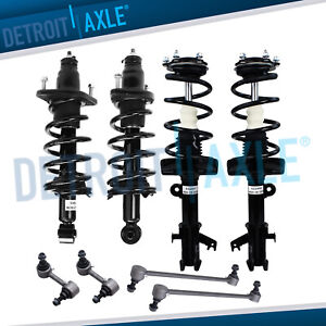 Front And Rear Sway Bar Links Struts For 2007 2009 2010 2011 Honda Cr v 2 4l