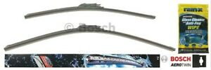 Bosch Aerotwin Wiper Blade Set 26 20 Rain X Glass Cleaner Wipe